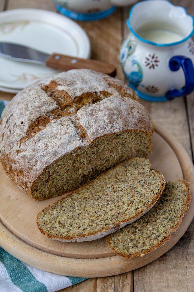 chleb na sodzie bez drożdży