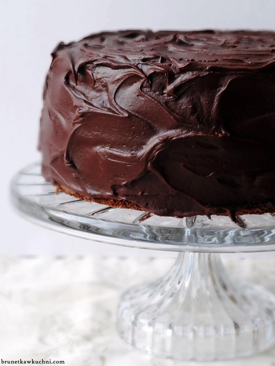 Dekadencki tort czekoladowo-krówkowy...
