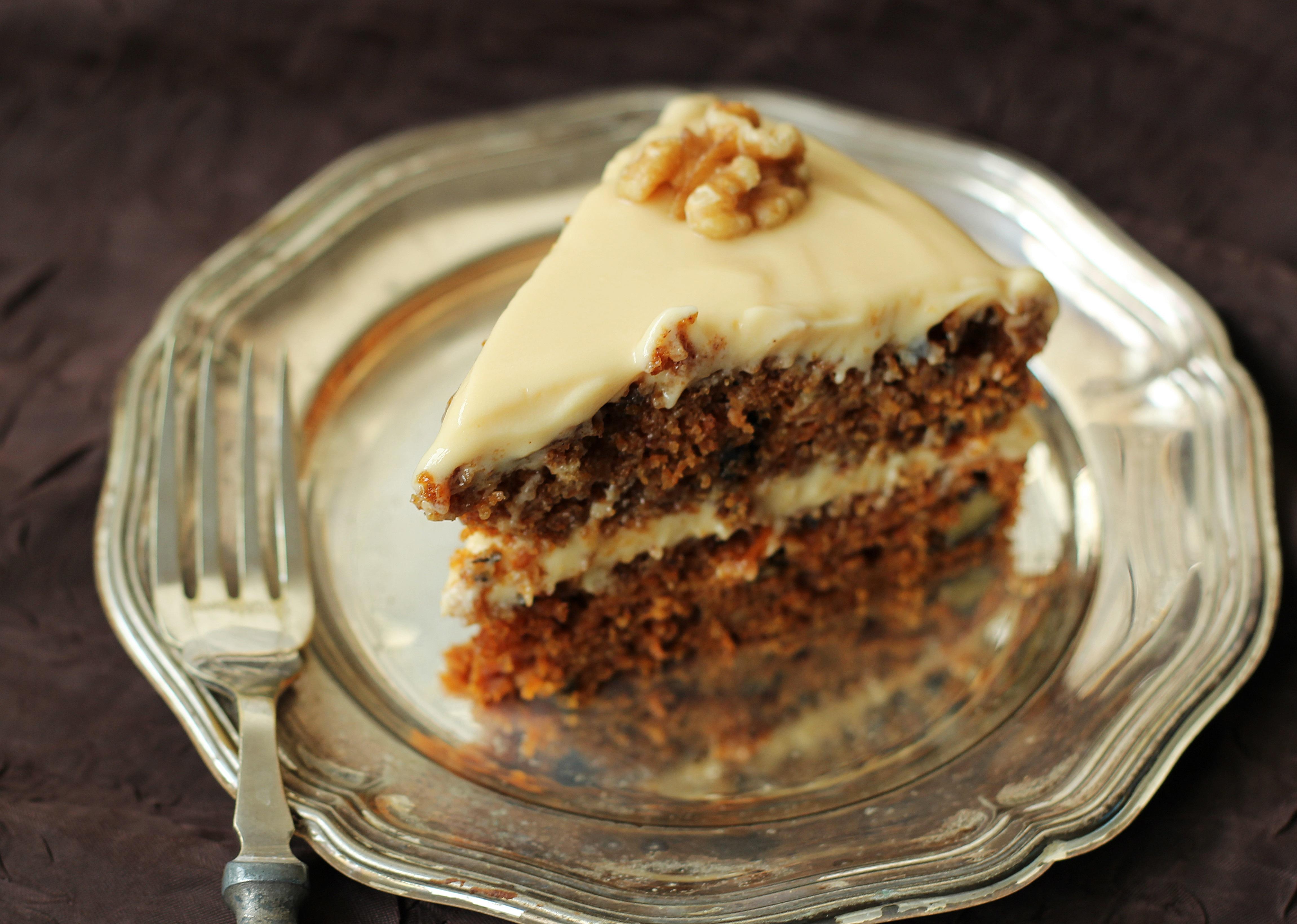 Ciasto Marchewkowe Z Karmelowym Kremem Brunetkawkuchni