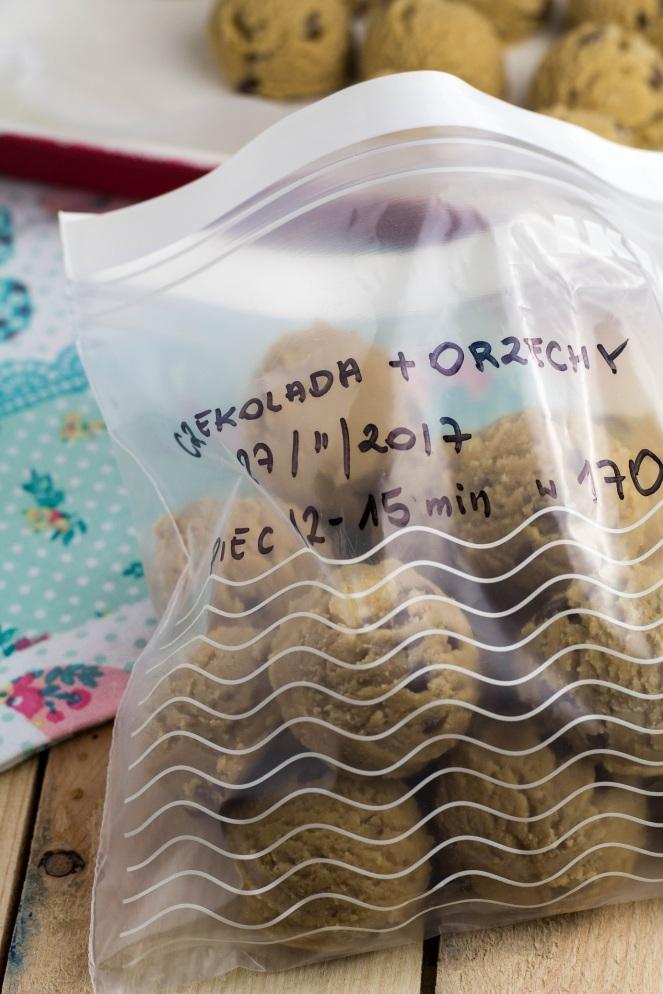 jak mrozić domowe ciasteczka