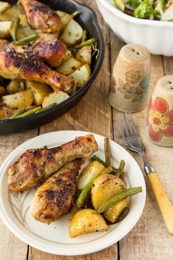 kurczak pieczony w sosie musztardowo-miodowym
